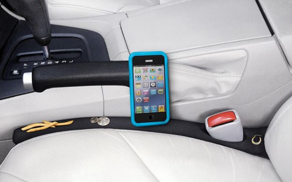 Mind the gap! How a genius Shark Tank product helped me stop dropping my phone in that dreaded car crack