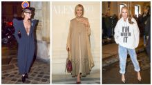 L'évolution fashion de Céline Dion