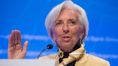 IMF's Lagarde 'very pleased' with Trump tax cut