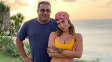 Pai de Anitta confirma que interferência de Piovani pesou no término com Scooby
