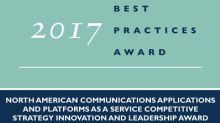 Vonage Earns Frost & Sullivan's Competitive Strategy Innovation and Leadership Award for Its Robust UCaaS and CPaaS Solutions