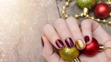 15 ideas de nail-art para empaparse del espíritu navideño