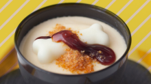 Get the best of both worlds with this Tonkotsu Pudding from Japan