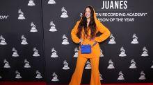 Latin Grammy Persona del Año 2019: Rosalía eclipsa a Juanes en la alfombra roja