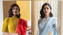Ghost Stories Actress Mrunal Thakur's Saree Fashion Is Absolutely Classy And Vintage
