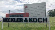 Nazi-Schatten auf Heckler & Koch