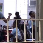 Puerto Rico: Video shows Puerto Rico school going wild as lights come back on after months of blackouts