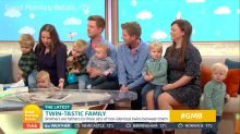Treble trouble! Identical twin brothers have three sets of twins between them in under two years