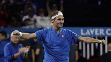 Tennis - Roger Federer fait le show durant sa tournée d'exhibition