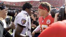 Lamar Jackson reacts to Patrick Mahomes' mega deal: 'I gotta win me a Super Bowl'