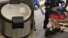 Man charged in connection with Manhattan rice cooker scare