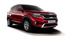 Kia debuts the compact Seltos crossover in Delhi