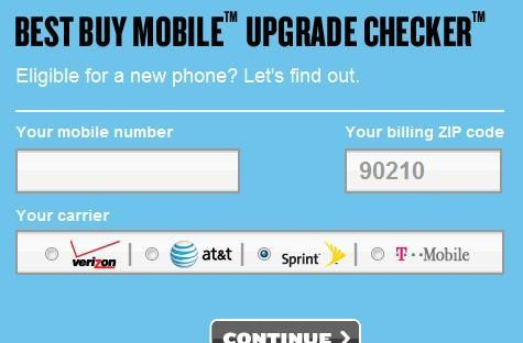 Best Buy Mobile Upgrade Checker reveals other numbers on your Sprint account, invites scaremongering