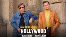 Leonardo DiCaprio and Brad Pitt party like it's 1969 in first trailer for Quentin Tarantino's 'Once Upon a Time in Hollywood'