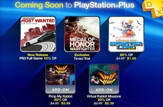PlayStation Plus this week: Need for Speed, Medal of Honor, Hell Yeah!