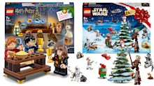 Lego launches £25 Harry Potter and Star Wars advent calendars