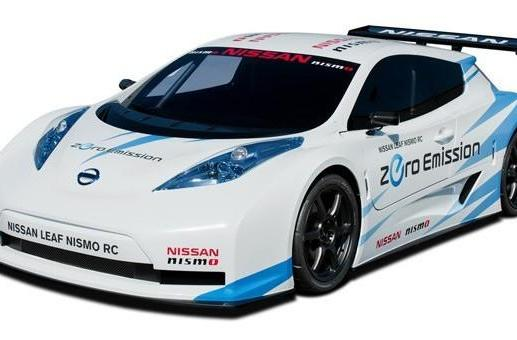 Nissan Leaf Nismo RC swaps basic comforts for a carbon fiber body and some racing good looks