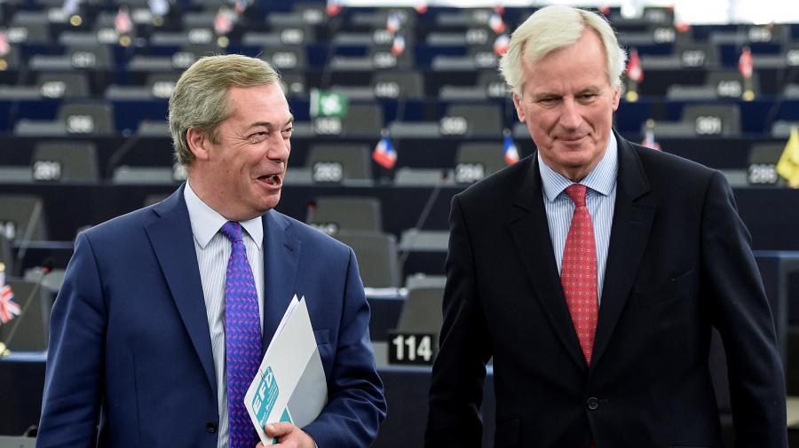 Michel Barnier says 'even Mr Farage' can't persuade him Brexit will be a success