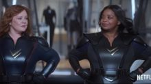 Melissa McCarthy and Octavia Spencer suit up in Netflix's Thunder Force trailer