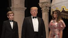 President Trump Predicts a 'Fantastic' New Year at Exclusive Mar-a-Lago Gala