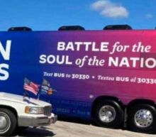 US election: Biden event in Texas cancelled as 'armed' Trump supporters threaten campaign bus