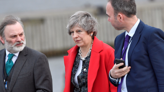 Theresa May to ask Cabinet's permission to pay a £40 billion Brexit bill