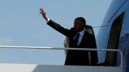 Obama to highlight climate issues at home before journey overseas