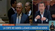 El vaticinio errado de la Televisión Pública sobre el fallo de la Corte Suprema