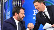 Il botta e risposta tra Renzi e Salvini a Porta a Porta