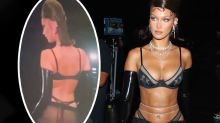 Bella Hadid turns heads in bottom-baring lingerie look: 'Wow'