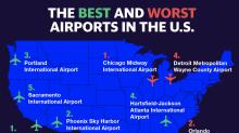 Los mejores y peores aeropuertos en Estados Unidos, según The Points Guy