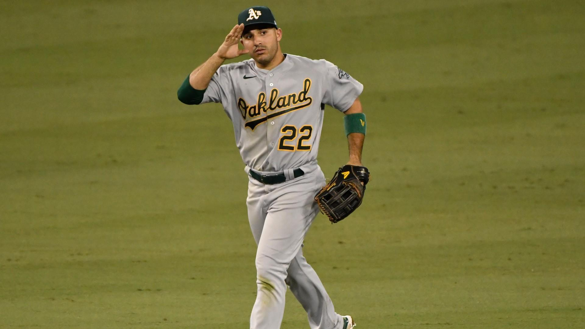 ESPN picked a bad time to mic up A's outfielder Ramón Laureano