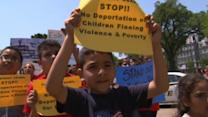 Protesters make push to stop deportation of children