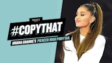 How to Get Ariana Grande's Edgy High Ponytail