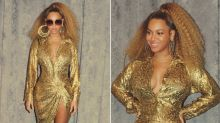 Fans are trying to shame Beyoncé for putting Blue Ivy in the corner while she poses for a glam photo