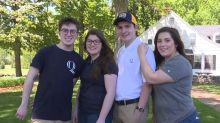Quadruplets all earn scholarships to head to Quinnipiac University this fall