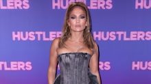 Jennifer Lopez sports $4,145 acid-wash jean ensemble for New York premiere of 'Hustlers'