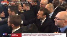 Emmanuel Macron hué et sifflé au Salon de l'Agriculture (Vidéo)