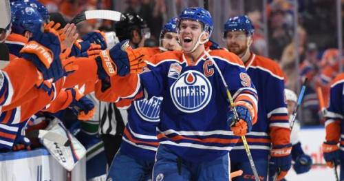 Hockey - NHL - NHL : Connor McDavid distingué