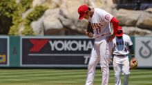 Shohei Ohtani pulled in second inning after giving up 5 walks in another disastrous start