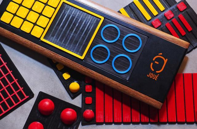 Joué's MIDI controller adds tactile fun to music-making