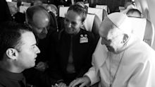 Pope Francis Throws Surprise Wedding on Plane