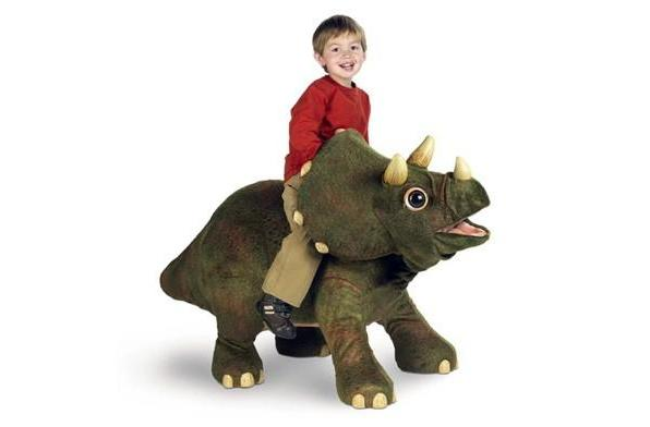 Kota the Triceratops ships from the land before time to your home