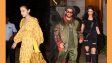 Ranveer, Deepika Padukone, Alia Bhatt at 'Gully Boy' After Party