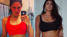 "This plus size model wants you to know that slimmer doesn't always mean ""healthier"" or happier"