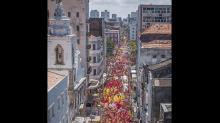 #Verificamos: Fotos antigas circulam na internet como se fossem do festival 'Lula Livre'