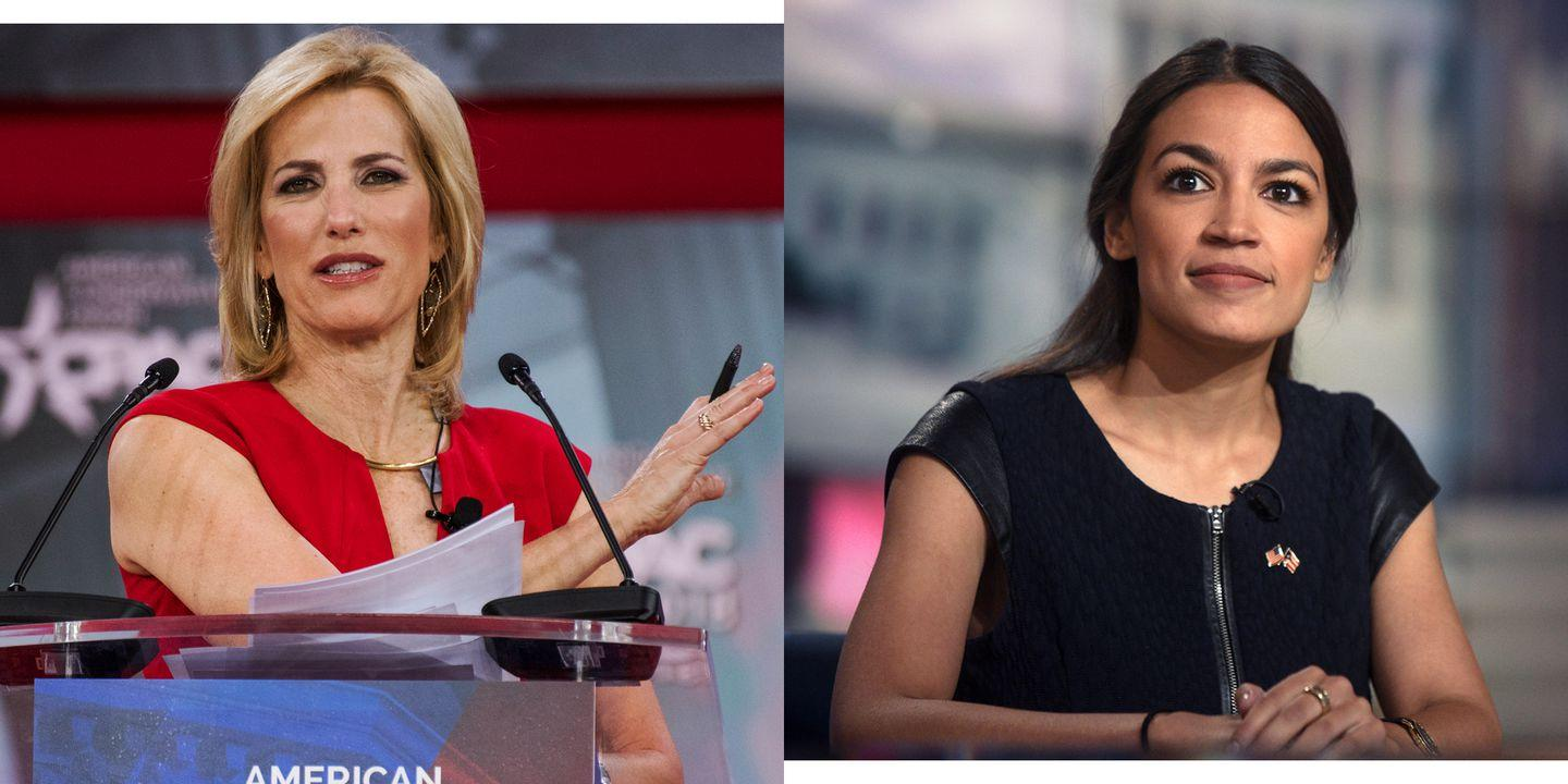 Alexandria Ocasio-Cortez Sees America's Real Problems. Laura Ingraham Sees What She Wants.