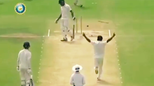 Teenage bowler shocks cricket world with insane feat of perfection