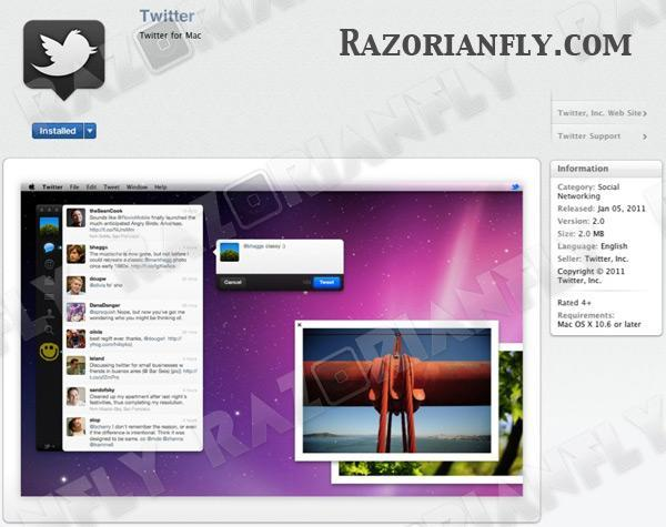 Twitter for Mac expected to launch with Mac App Store tomorrow