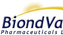 BiondVax Announces Second Quarter 2018 Financial Results